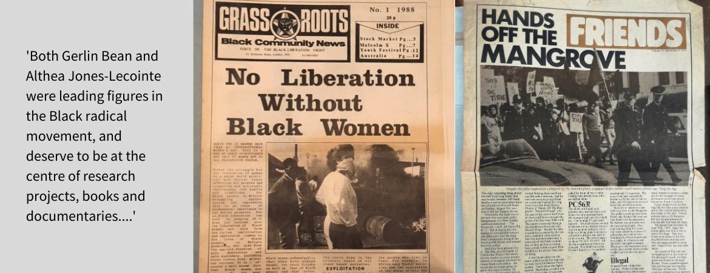 Leading women of the Black radical movement